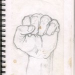 """Hand Study"" Pencil on Paper"