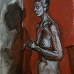 """Figure Drawing"" Charcoal & Conté on Paper, 2010"