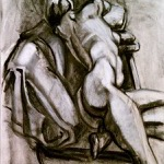 """Figure Drawing"" Charcoal on Paper, 2011"
