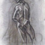 """Figure Drawing"" Charcoal on Paper, 2012"