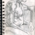 """Figure Drawing"" Pencil on Paper, 2012"