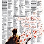 """August Rush Promo SPEC"" Philadelphia Inquirer & Daily News, 11""x10.5"", 2008"