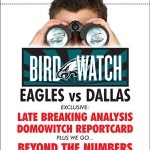 """Philadelphia Eagles Bird Watch Paper-Rack"" Philadelphia Inquirer & Daily News, 11""x10.5"", 2008"