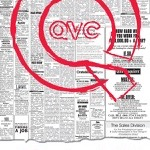 """QVC I Q Do U Promo"" Philadelphia Inquirer & Daily News, 11""x10.5"" 2008"